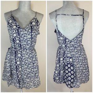 GYPSY 05 Global Village Blue Boho Short Dress NEW